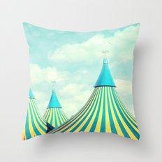 circus tent 2 Throw Pillow