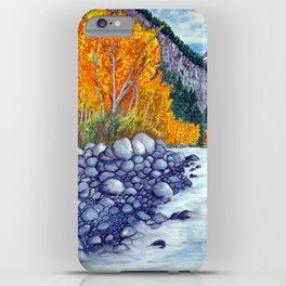 Along the lake.. iPhone Case
