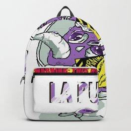 La Purple Backpack