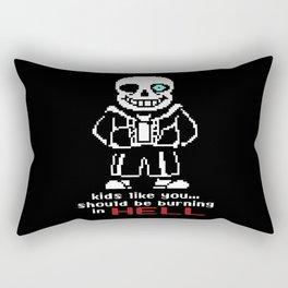 sans HELL Rectangular Pillow