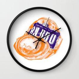 Irn-Bru can Wall Clock