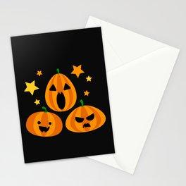 Spooky Pumpkin Stationery Cards