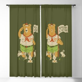Adventure Is Out There Blackout Curtain