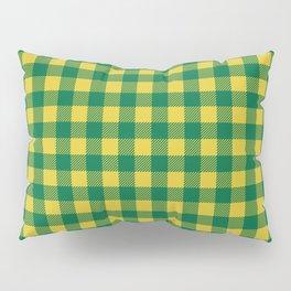 Plaid (green/yellow) Pillow Sham