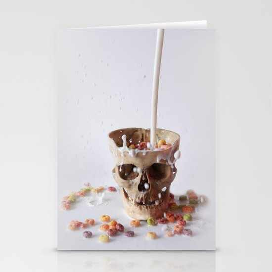 Cereal Killer Stationery Cards