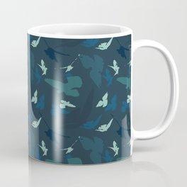 Bird Camouflage at Midnight Coffee Mug