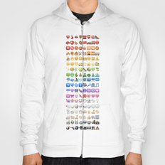 Emoji icons by colors Hoody