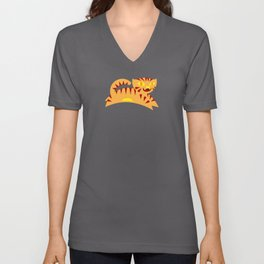 Tiger Spirit Unisex V-Neck
