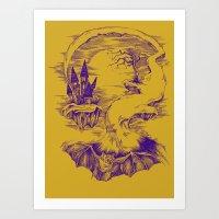 Pet Bat Art Print