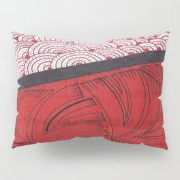 Red on Red Pillow Sham