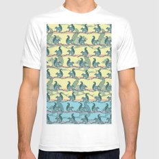 Squirrels! MEDIUM Mens Fitted Tee White
