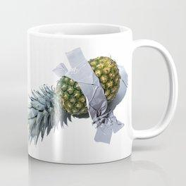 Pineapple Duct-taped Coffee Mug
