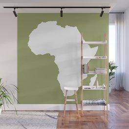 Safari Green Audacious Africa Wall Mural