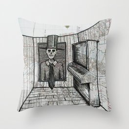 New Orleans, Louisiana Throw Pillow