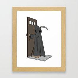 Dead Ringer Framed Art Print