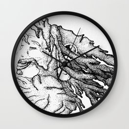 Wise Locks Wall Clock