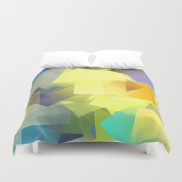 Cubism Abstract 201 Duvet Cover