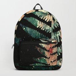 Watercolour Fern Leaf Backpack