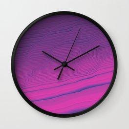 digi cliffs Wall Clock