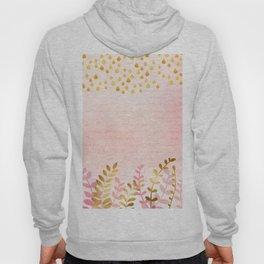 Orchid pink - golden rainforest Hoody