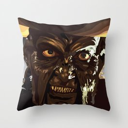 Jeepers Creepers  Throw Pillow