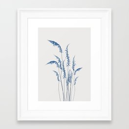 Blue flowers 2 Framed Art Print