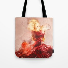 Fanning The Flames Tote Bag