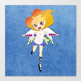 Rainbow Cupid v01 Canvas Print