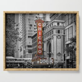 CHICAGO State Street Serving Tray