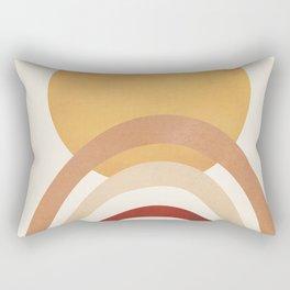 The Sun and a Rainbow II Rectangular Pillow