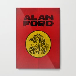 Alan Ford Metal Print