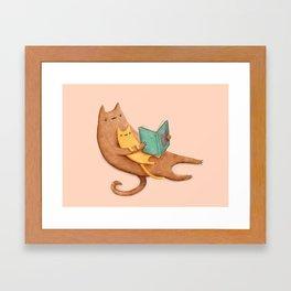 The Cat's Mother Framed Art Print