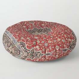 N63 - Red Heritage Oriental Traditional Moroccan Style Artwork Floor Pillow