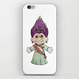 Dronningtroll iPhone Skin