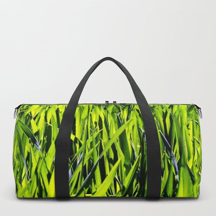 Green Grass Duffle Bag