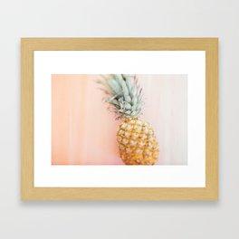 Ananas Framed Art Print