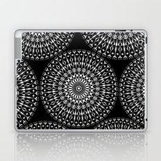 Geometries in white. Laptop & iPad Skin