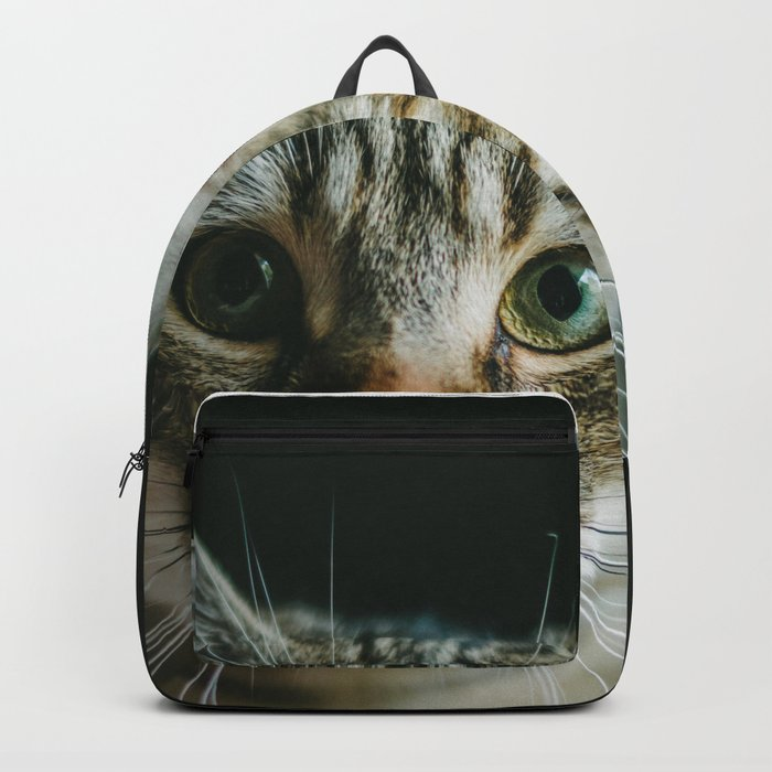 Portrait of a Cat Backpack