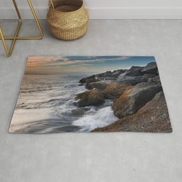 Tide Rushes In Rug