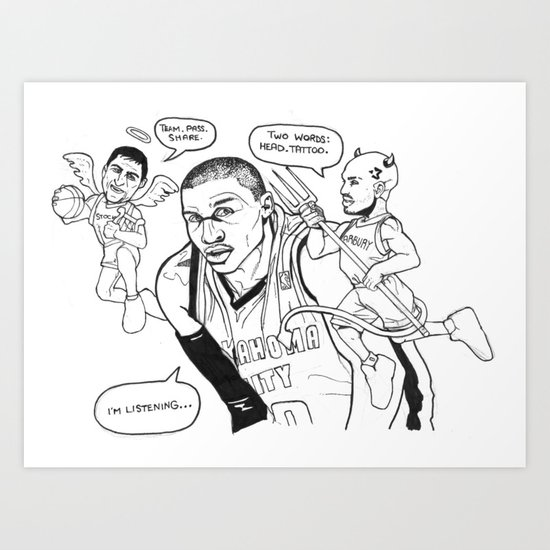 Duality of Westbrook Art Print