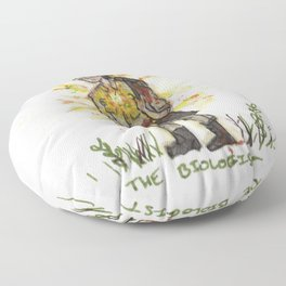 The Biologist Floor Pillow