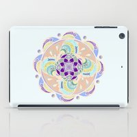 buddhism iPad Cases featuring Daisy Lotus Meditation by DebS Digs Photo Art
