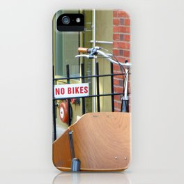 No Bikes iPhone Case