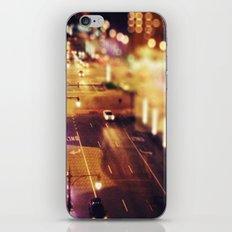Blurred Lights iPhone & iPod Skin