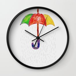 KEEP DRY. Wall Clock