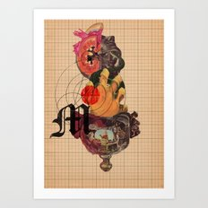 Murder Mind Art Print