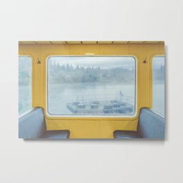 Bainbridge Ferry Metal Print