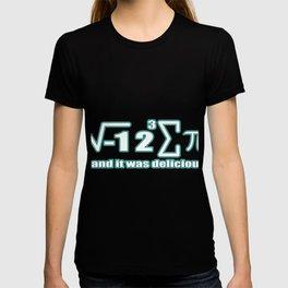 I Ate Some Pie I 8 Sum Pi Funny math T-shirt