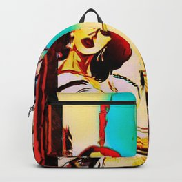 Under A Crescent Moon Backpack