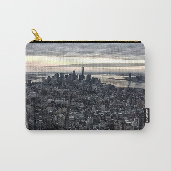 New York skyline x Carry-All Pouch
